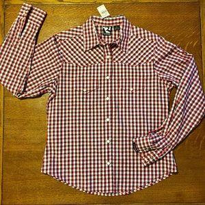 ROCKIES Ladies Pearl Snap Western Cowboy Shirt New